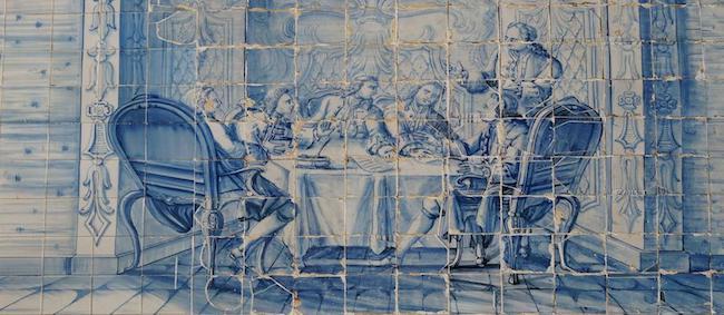 Azulezo português (Séc. XVII)